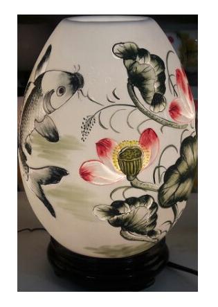 đèn xông tinh dầu dạng trứng